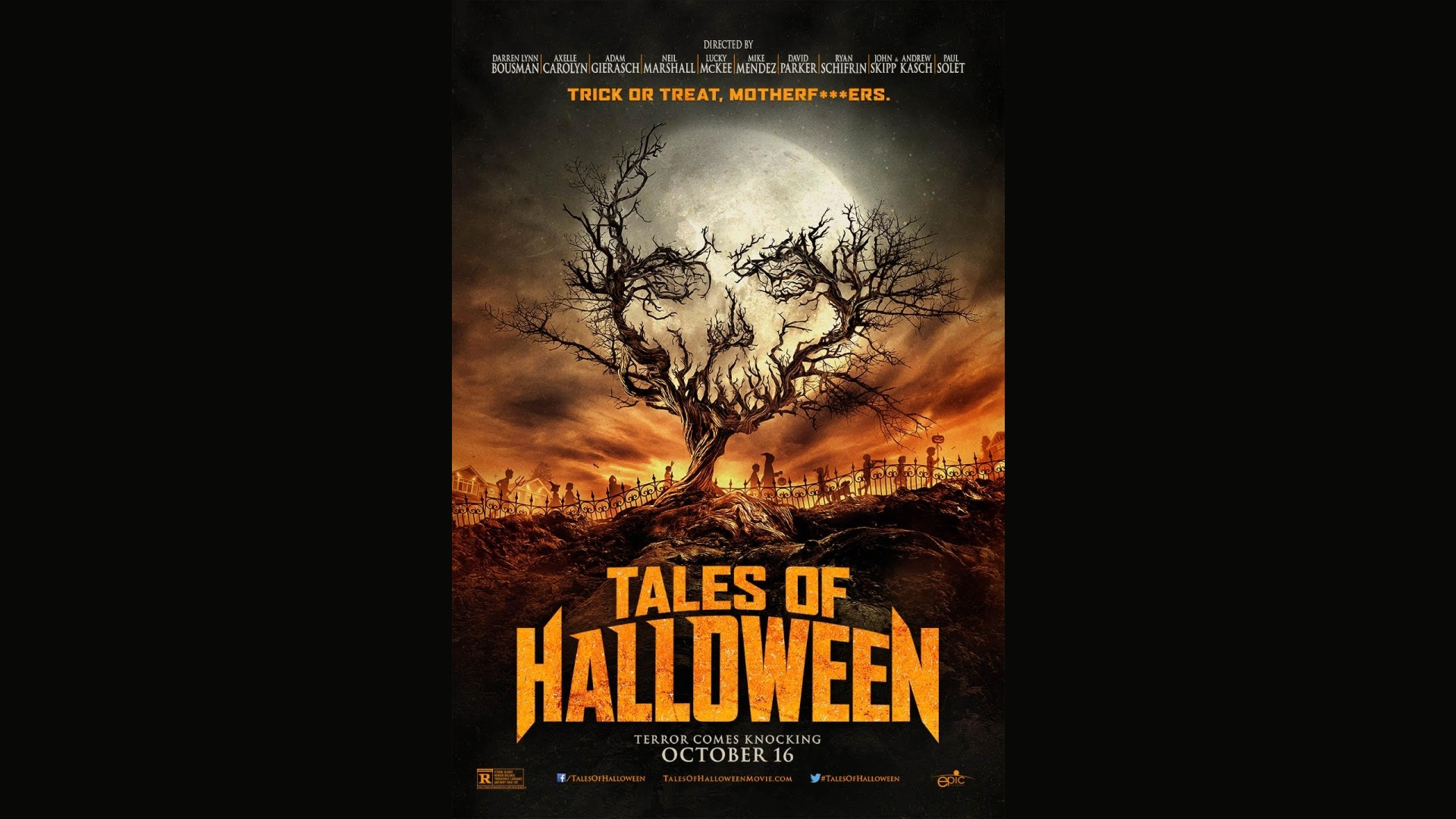 Uncategorized Halloween Tales tales of halloween who goes there podcast new poster